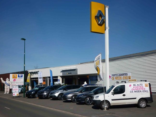 Garages ml auto beaurains et renault 4 as achicourt ml for Garage renault vendee